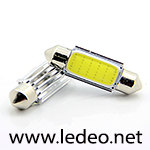 1 ampoule à LED  navettes 41 mm c5w  festoon  à  LED COB