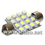 ampoules � led 37 mm 16 led P