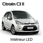 Citroen c3 2 kit ampoules à led P