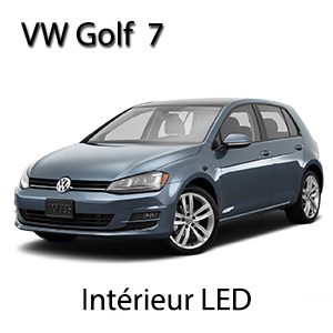 Kit clairage led int rieur pour volkswagen golf 7 for Interieur golf 7