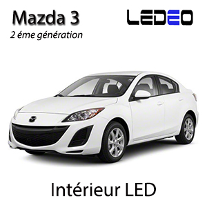 ampoule led smd eclairage xenon veilleuses plafonnier int rieur mazda 3 2. Black Bedroom Furniture Sets. Home Design Ideas