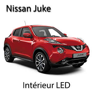 Kit ampoules led full led pack led int rieur nissan juke for Interieur nissan juke