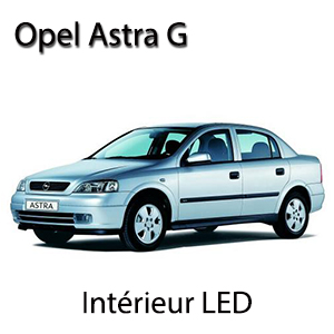 kit clairage led intrieur pour opel astra g