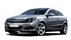 Opel Astra GTC interieur led