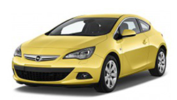 Opel Astra J GTC interieur Led