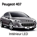 Peugeot 407 Kit ampoules à LED P