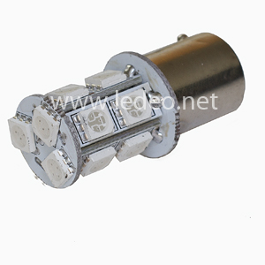 1 ampoule PY21W - BAU15s à 13 LED smd  ORANGE  clignotants