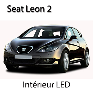 Kit clairage led int rieur pour seat leon 2 boutique for Interieur seat leon